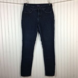 NYDJ Dark Wash Ankle Jeans Stretch Denim Size 4